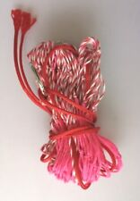 """5 x NEW 36"""" Purse Nets - pink & candy - bright and distinctive (ferrets )"""