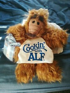 Vintage Cooking With Alf Hand Puppet 1988 Burger King New With Tags