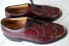Vintage Hanover LB Sheppard Signatures 2313 Wingtips~Brown~9.5 D/B