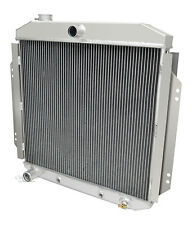 Champion 3 Row Aluminum DR Radiator For 1957-60 Ford Truck Ford V8 Config