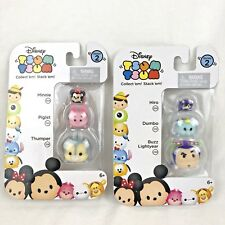 Disney TSUM TSUM 3 Pack Series 2 Mini Toy Figures Hiro Thumper Buzz NEW Lot of 2