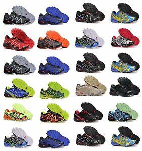 Nouveau Salomon Speedcross Vario 3 Homme Trail Chaussures De Course Baskets