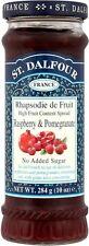 St. Dalfour Raspberry & Pomegranate Jam No Added Sugar (20x284g)