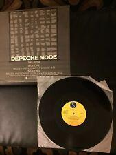 """Rare Depeche Mode 12"""" Record Promo Master And Servant Vinyl 1984 Sire Records"""