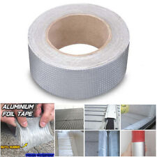 Super Strong Waterproof Tape Butyl Seal Rubber Aluminum Foil Tape 1mm*50mm*5M