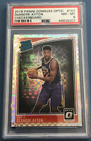 2018 Donruss Optic Deandre Ayton Checkerboard Holo PSA 8 Rookie Suns SSP 🔥