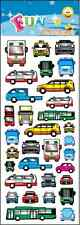 """FANTASTIC FUN STICKERS """" CARS & bUSES """" FOR CARDS & CRAFT"""