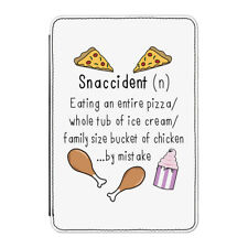 "Snaccident Definition Case Cover for Kindle 6"" E-reader - Funny Snack Accident"