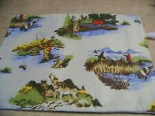 """COVER ONLY FOR ELECTRIC HEATING PAD ~HUNTING & FISHING  12"""" X 15""""  #1281"""