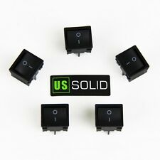 U.S. Solid 4 Pin 5 pcs Rectangle Rocker Latching ON/OFF Boat Switch