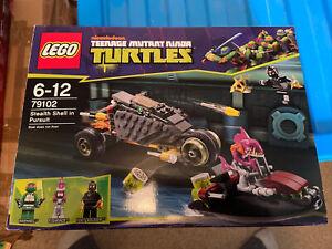 LEGO Teenage Mutant Ninja Turtles Set 79102 - Complete