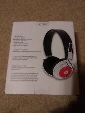 Bytech Wired Stereo Headphone  Black / Red