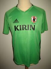 Japan PLAYER ISSUE football shirt soccer jersey voetbal trikot maillot size L