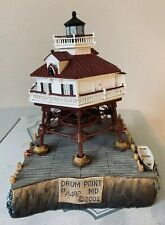 Harbour Lights Lighthouse Drum Point Md #440 2002 In Box