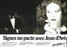 PUBLICITE ADVERTISING 036  1978  Jean d'Avèze cosmétiques  crèmes (2p)