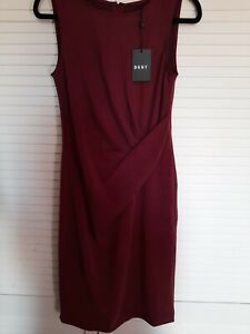 DKNY Sleeveless Dress Size 10 US 6 New With Tags RRP $134