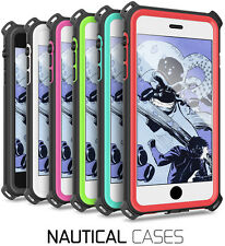 Ghostek Nautical Shockproof Case For iPhone 5 5S SE 6 6S 7 Plus Galaxy S8 Plus