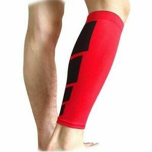 Running sports leg support calf leg brace stretch sleeve compression supporter