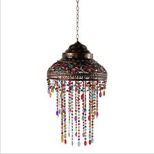 Glass Shade Hanging Pendant Lamp Ceiling Light Chandelier LED Ceiling Fixtures