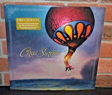 CIRCA SURVIVE - On Letting Go, Ltd 3LP COLORED VINYL + DL, ETCHED F Tri-Fold NEW