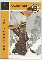 ED JOHNSTON - 1995-96 PARKHURST RETRO #18 -  BOSTON BRUINS  - MT