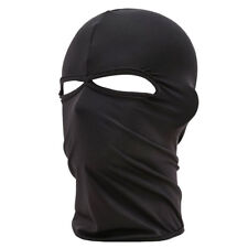Full Face Mask Outdoor Ski Neck Protection Motorcycle Black Balaclava Black U