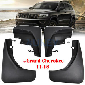 For Jeep Grand Cherokee 11-18 Mud Flaps Mudflaps Mudguards Splash Guards