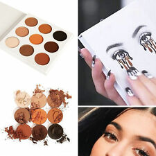 9 colores Lady Eye Shadow Makeup Cosmetic Shimmer Matte Eyeshadow Paleta Set YP