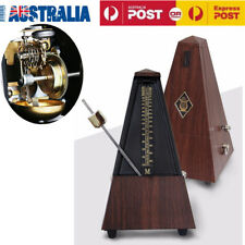 Antique Mechanical Metronome With Audible Bell Chime for Piano Guitar Bass