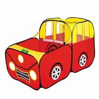 Sport Auto Kind Spielzelt Haus Spielen Huette Kinder Ozean Baellebad Pool T7A2