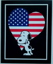 Peanuts Snoopy ♡'s Usa Magnet ♡