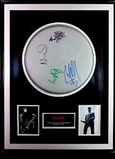 RARE OASIS AUTHENTIC SIGNED DRUMSKIN LIAM NOEL GALLAGHER ANDY BELL GEM ARCHER