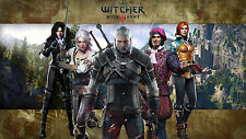 Cartel de The Witcher 3 The Witcher 3 Wild Hunt Juego Art A3