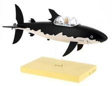 New Tintin shark submarine Herge resin statue