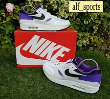 BNWB & Authentic Nike ® Air Max 1 DNA CH.1 Trainers in White & Purple UK Size 9