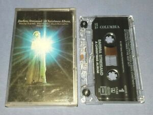 BARBRA STREISAND A CHRISTMAS ALBUM cassette tape album T9085