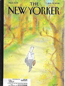 New Yorker--8/21/2006-----127