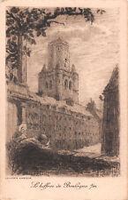 R252791 Le beffroi de Boulogne s. m. Eau Forte. A. Mayeur. Postcard
