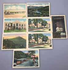 Lot Of 8 Vintage Virginia Postcards Unused Buildings And Nature