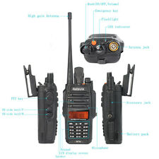 Retevis RT6 Walkie Talkies IP67 Impermeable  VHF+UHF Walkie Talkies y radios