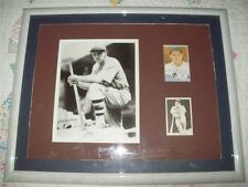 BILL TERRY ~ HOF New York Giants Autographed Display ~ Framed & Matted