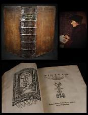 1522 - 1524 Erasmus New Testament Latin Biblical Paraphrase, Johann Froben