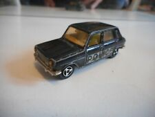 Majorette Simca 1100 Ti Police in Black