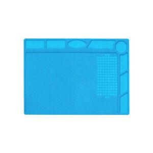 Heat Insulation Silicone Mat Repair Soldering Foldable Mat Welding Blanket