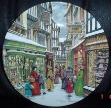 Royal Doulton Collectors Plate CHRISTMAS FAYRE