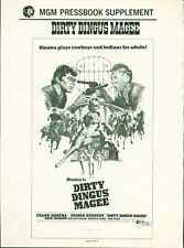 Dirty Dingus Magee (1970) supplement Frank Sinatra, George Kennedy Anne Jackson