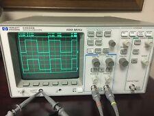 HP / Agilent 54600B 2-channel 100 MHz Oscilloscope +5467A FFT Module