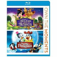 All Dogs Go to Heaven/The Pebble and the Penguin (Blu-ray Disc, 2012) New