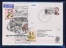 57673) AUA FISA SF Wien - Zürich -(Meyrin) 24.4.2009, GAU Russland R!