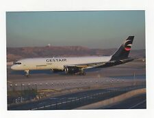 Gestair Cargo Boeing 757 at Madrid Aviation Postcard, A637
